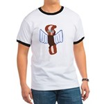 Bacon Cupid Ringer T
