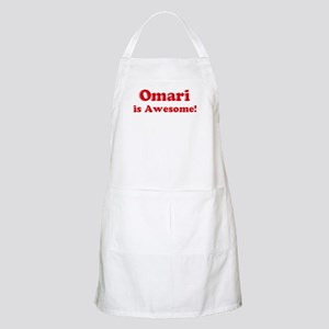 Omari is Awesome BBQ Apron