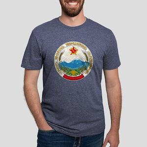 Emblem of the Armenian Sovi Mens Tri-blend T-Shirt