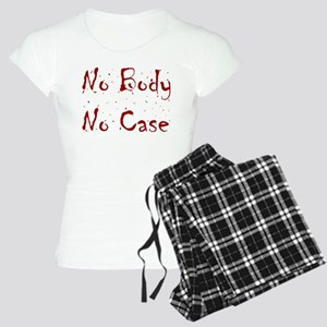 No Body, No Case Women's Light Pajamas