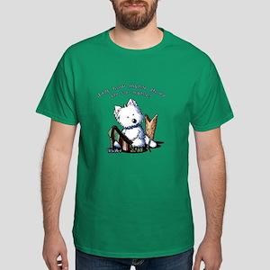 Shih Tzu Caricature Dark T-Shirt