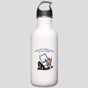 Shih Tzu Caricature Stainless Water Bottle 1.0L