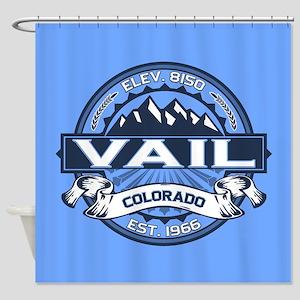 Vail Blue Shower Curtain