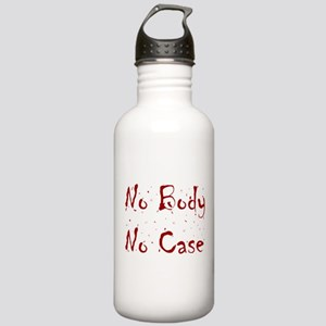 No Body, No Case Stainless Water Bottle 1.0L