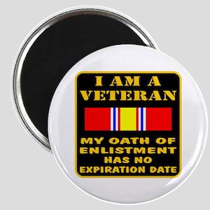 I Am A Veteran Magnet