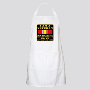 I Am A Veteran Apron