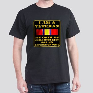 I Am A Veteran Dark T-Shirt