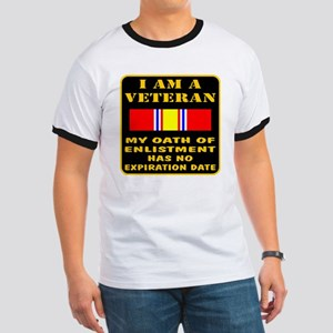 I Am A Veteran Ringer T