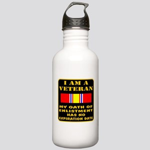 I Am A Veteran Stainless Water Bottle 1.0L