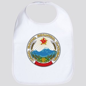 Emblem of the Armenian Soviet Socialist R Baby Bib