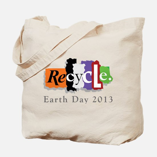 Earth Day 2013 Recycle Tote Bag