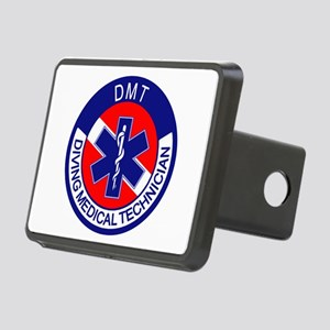 DMT Logo Rectangular Hitch Cover