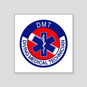 "DMT Logo Square Sticker 3"" x 3"""