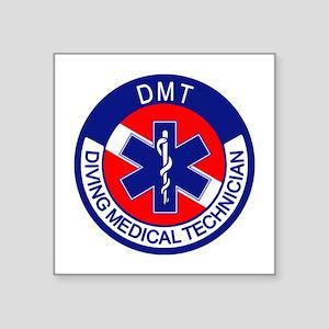 "DMT Logo Square Sticker 3"" x 3"""
