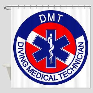 DMT Logo Shower Curtain