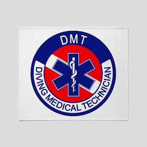 DMT Logo Throw Blanket
