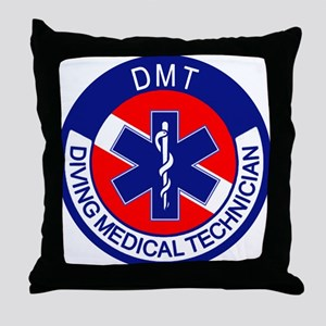 DMT Logo Throw Pillow