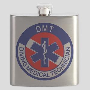 DMT Logo Flask