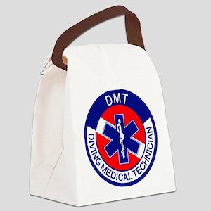 DMT Logo Canvas Lunch Bag