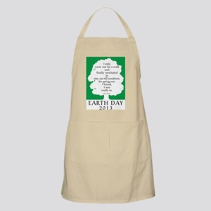Earth Day Quote 2013 Apron