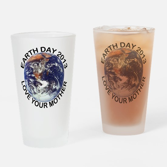 Earth Day 2013 Drinking Glass