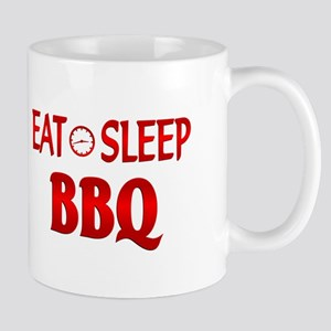 Eat Sleep BBQ Mug