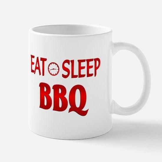 Eat Sleep BBQ Mug