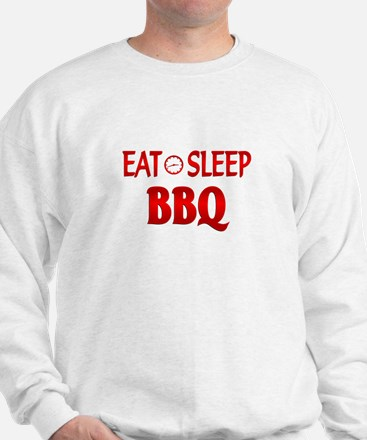 Eat Sleep BBQ Sweatshirt