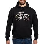 Floral Vintage Bicycle Hoodie (dark)
