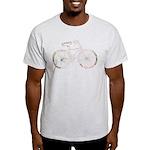 Floral Vintage Bicycle Light T-Shirt