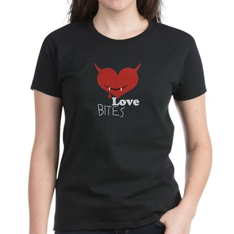 Love Bites Women's Dark T-Shirt