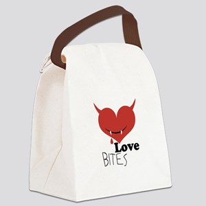 Love Bites Canvas Lunch Bag