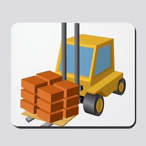 Forklift Mousepad