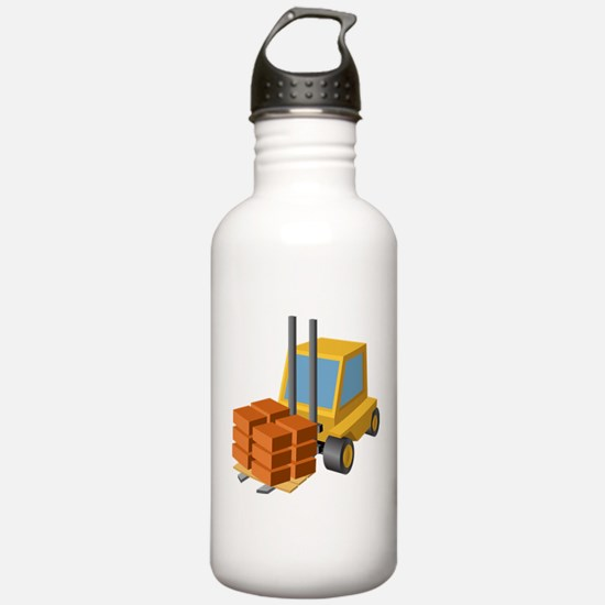 Forklift Water Bottle