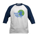 Honor Your Mother (blue) Kids Baseball Jersey