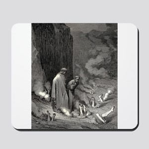 Gustave Dore - The Simonists Mousepad