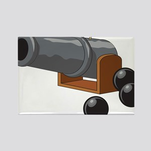 Cannonball Rectangle Magnet