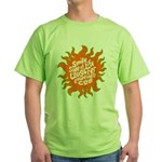 Smile Side of Life Green T-Shirt