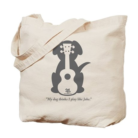 Dog Jake Uke Tote Bag