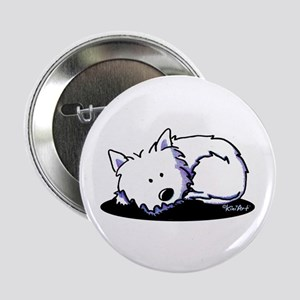 "Nap Time Westie 2.25"" Button"