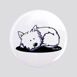 "Nap Time Westie 3.5"" Button"