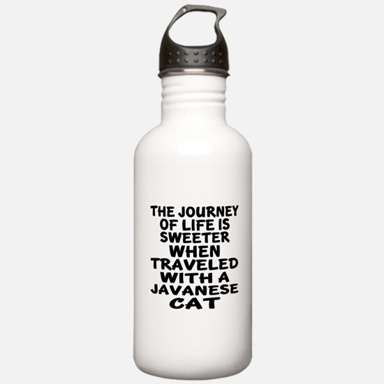 Traveled With javanese Sports Water Bottle
