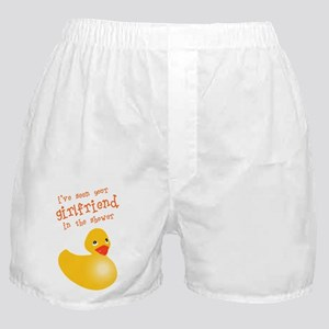 Duckie girlfriend Boxer Shorts