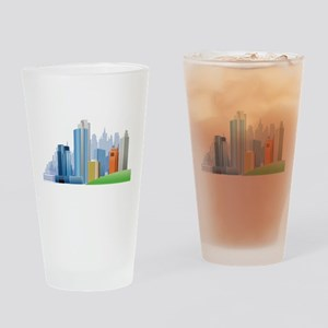 Skyline Drinking Glass