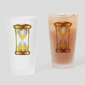 Hourglass Drinking Glass