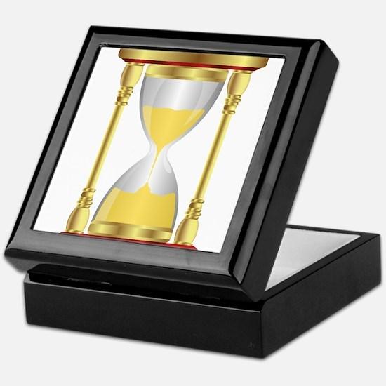 Hourglass Keepsake Box