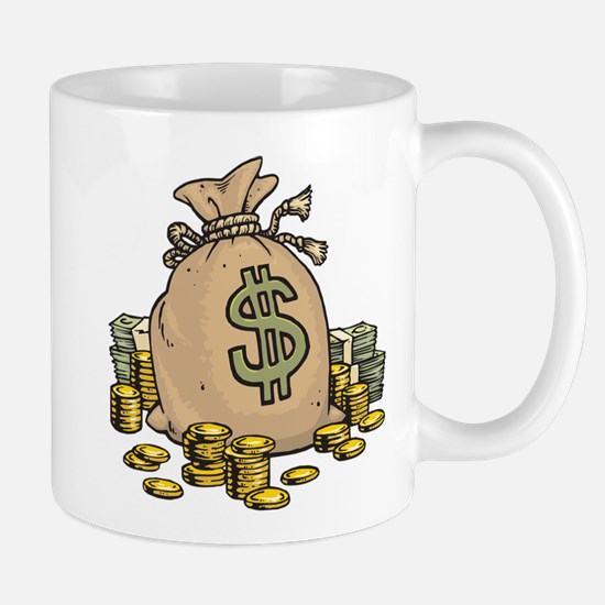 Money Bags Mug