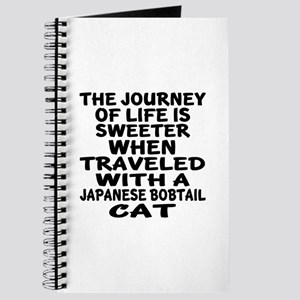 Traveled With japanese bobtail Cat Journal