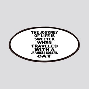 Traveled With japanese bobtail Cat Patch