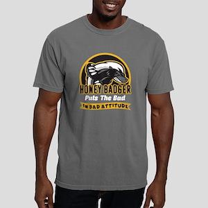 HONEY BADGER CHARACTERIS Mens Comfort Colors Shirt